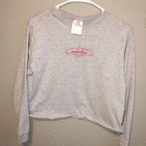 Vintage Adidas Long Sleeve Tee Shirt